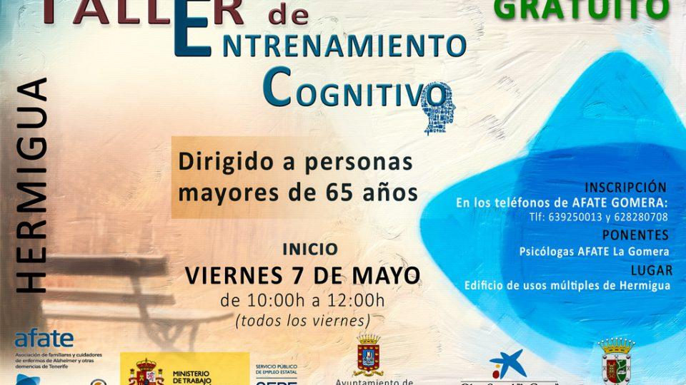 Hermigua acoge talleres de entrenamiento cognitivo impartidos por AFATE