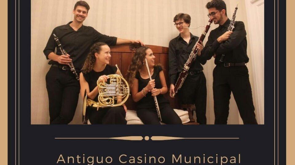 Hermigua acoge este sábado la actuación del Quinteto Vicanca'