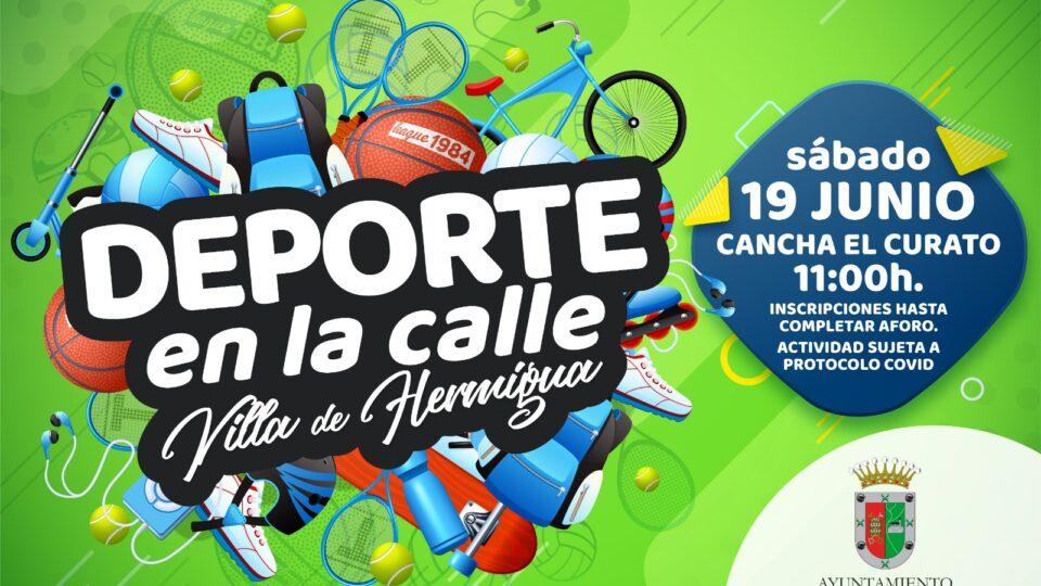 """Hermigua celebra este sábado una nueva jornada de """"deporte en la calle"""""""