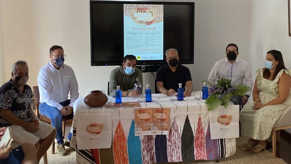 Hermigua presenta la XXIV edición de la Feria de Artesanía y Comercio