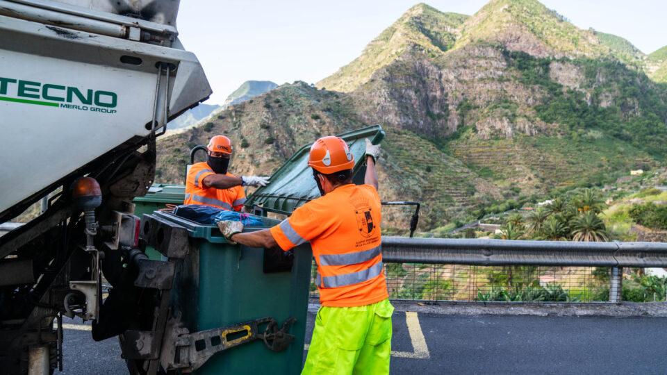 Hermigua comienza a normalizar la recogida de residuos sólidos urbanos